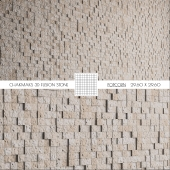 Плитка Chakmaks 3D FUSION STONE POPCORN