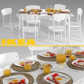 IKEA  ИНГАТОРП и ИДОЛЬФ