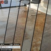 TUREX INTERNATIONAL Travertine Tiles Set 05