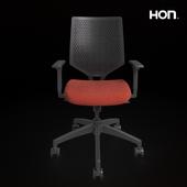 HON Solve Mid-Back Task Chair with ReActiv Back