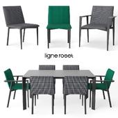 Ligne Roset Mogador chair   Frost table