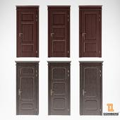 Две коллекции класических дверей Domberg