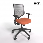 HON Solve Mid-Back Task Chair with Knit Mesh Back