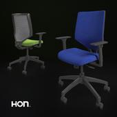 HON Solve Mid-Back Task Chair with Upholstered ReActiv Back
