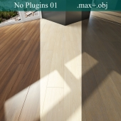 Parquet 3 types (No Plugins)