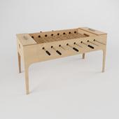 Plywood foosball