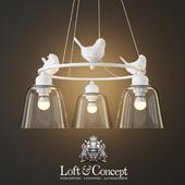 HANGING LAMP PROVENCE BIRD CHANDELIER 3