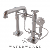 R.W. Atlas Exposed Deck Mounted Tub Filler