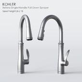 KOHLER Bellera Single-Handle Pull-Down Sprayer