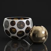 Moser Copernicus 3177 vase