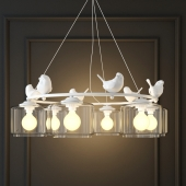 HANGING LAMP PROVENCE BIRD PENDANT CHANDELIER PEDANT