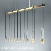 APOLLINAIRE LINEAR CHANDELIER