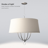 Shades of Light Sleek Simplicity Shade Chandelier