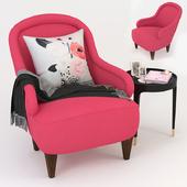 Kate Spade Drake Slipper Chair