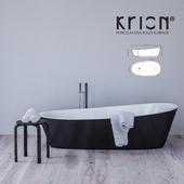 Krion Almond Bath