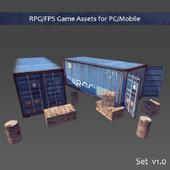 RPG / FPS Game Assets for PC / Mobile (Set v1.0)