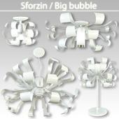 Набор светильников Sforzin  Big bubble