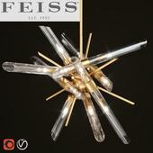 FEISS The Quorra 14-light chandelier