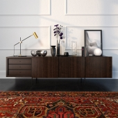 sideboard Tiller by Porro - decor set