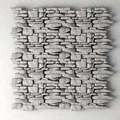 Stine raock panel decor