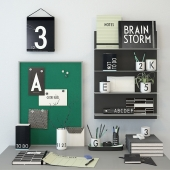 Decor Letters Green