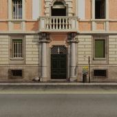 Фасад итальянского здания