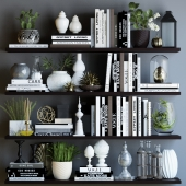 Black and white decor set 2