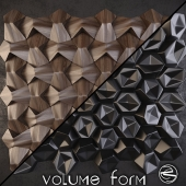 Volume Form - Rose, Origami