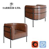 Кресло Sarreid Breda Barrel Chair