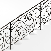 stairs Forged fences