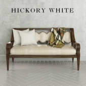 Hickory White Gabriel Bench