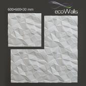 """3D панели """"Грани"""", компании EcoWalls"""