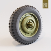 Wheel and tire Ford-GPW
