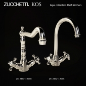 Zucchetti. KOS kitchen taps collection Delfi