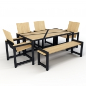 Dining Set Industrial Design