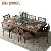 Стол со стульями Mobi Dining rooms Morokko