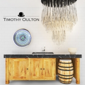 TIMOTHY OULTON KITCHEN SET