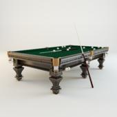 Бильярдный стол для русского бильярда «Hardy» (махагон)