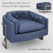 Barrel Back Club Chair