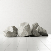 Rock stone collection