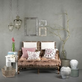 Hubsch interior rattan set