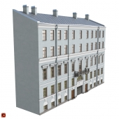 Фасад дома на Фонтанке