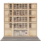 Фасад промышленного здания
