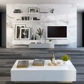 Стенка перегородка с ТВ