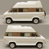 Caravan Chevrolet Van Get Away Camper Van