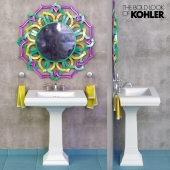Sink Kohler Memoirs Pedestal