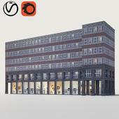 Quadratisch, praktisch, gut! или фасад из Германии