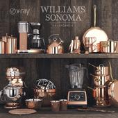 Williams Sonoma Copper Set