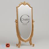 Зеркало напольное Chelini art. 1108