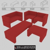 Della Rovere | ZIP | Office Waiting Sofas